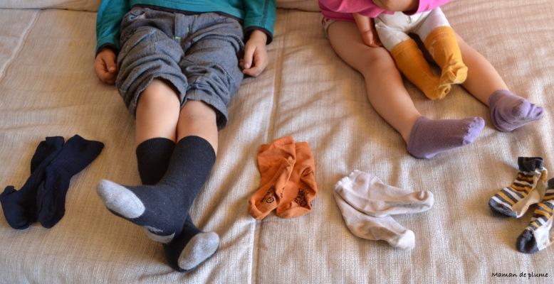 Le mystère des chaussettes