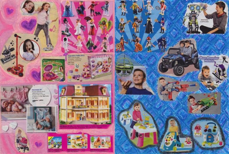 Sexisme au rayon jouets