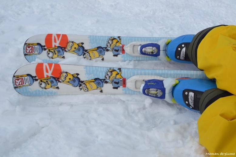 Trop Minions skis