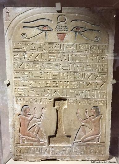 Dire la mort hieroglyphes